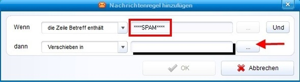 how to stop spam email in incredimail